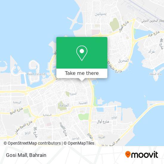 Gosi Mall map