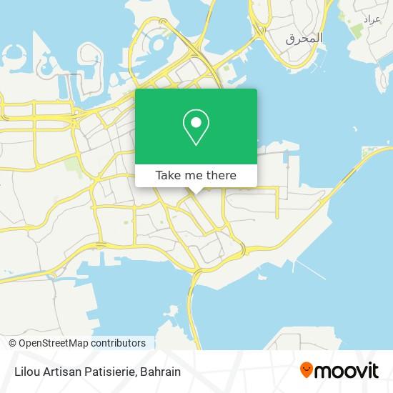 Lilou Artisan Patisierie map