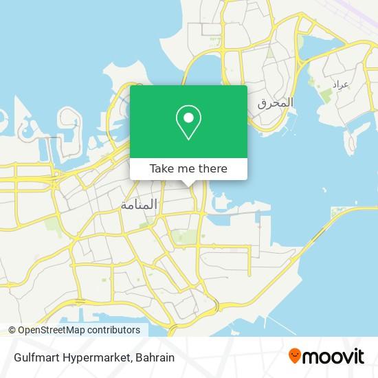 Gulfmart Hypermarket map