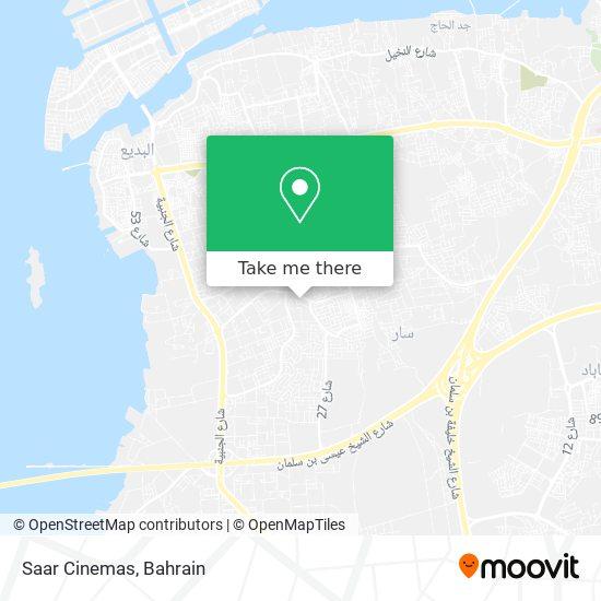 Saar Cinemas map