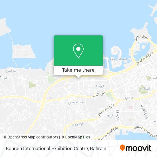 Bahrain International Exhibition Centre map