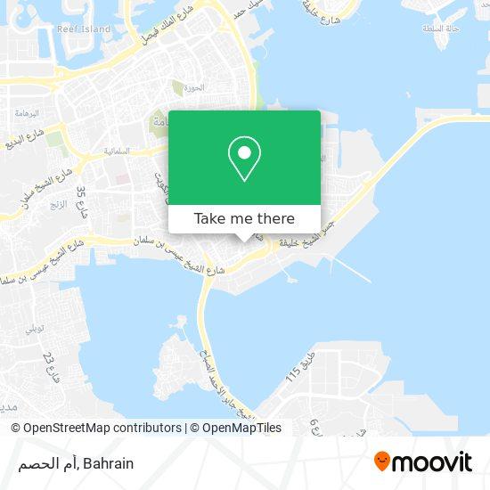 Um Al Hassam map