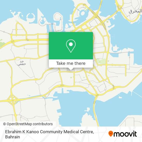 Ebrahim K Kanoo Community Medical Centre map