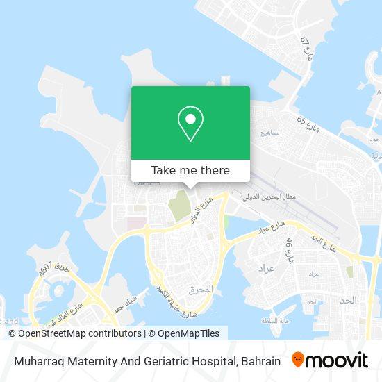 Muharraq Maternity And Geriatric Hospital map