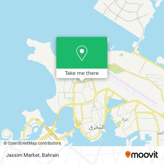 Jassim Market map