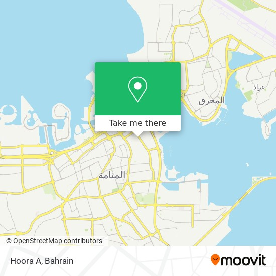 Hoora A map