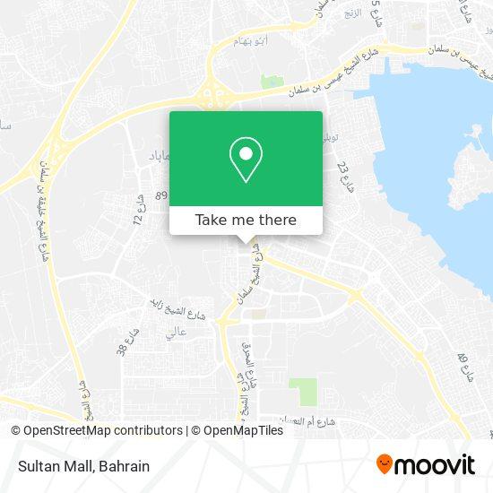 Salatan Mall map