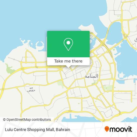 Lulu Centre Shopping Mall map