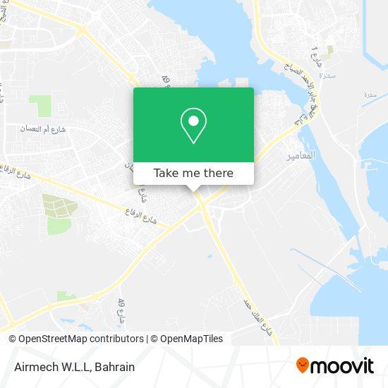 Airmech W.L.L map