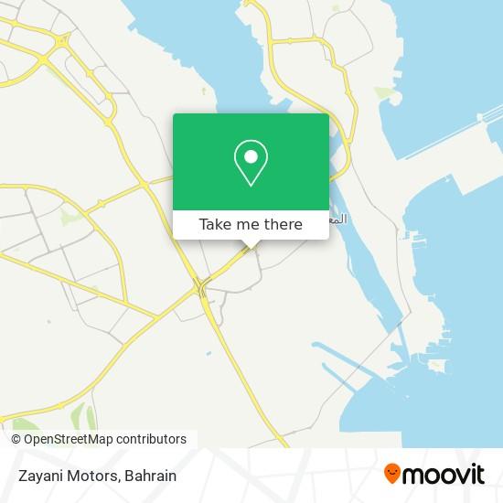 Zayani Motors map