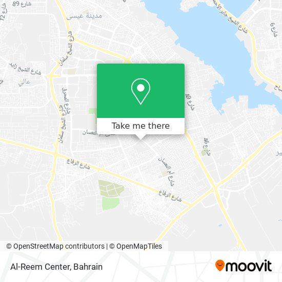 Al-Reem Center map