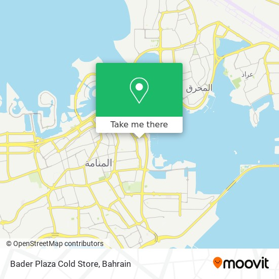 Bader Plaza Cold Store map