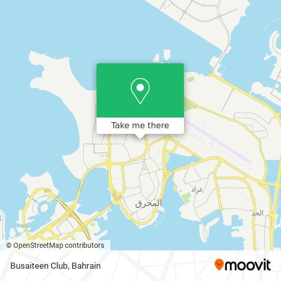 Busaiteen Club map