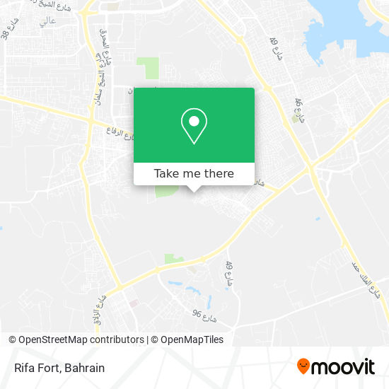 Rifa Fort map