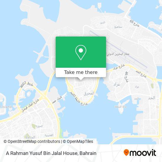 A Rahman Yusuf Bin Jalal House map