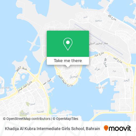 Khadija Al Kubra Intermediate Girls School map