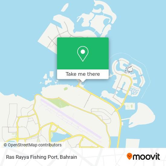 Ras Rayya Fishing Port map