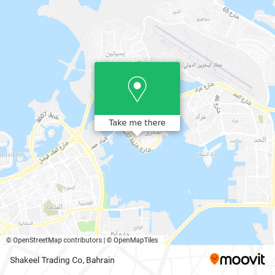 Shakeel Trading Co map