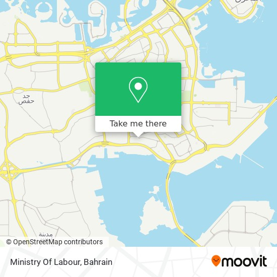 Ministry Of Labour map
