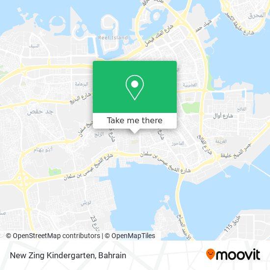 New Zing Kindergarten map