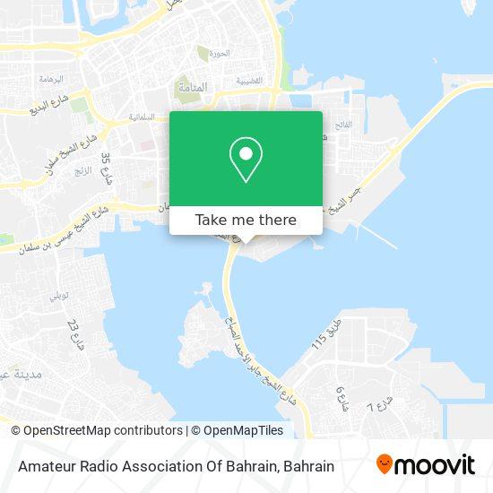 Amateur Radio Association Of Bahrain map