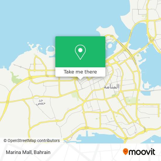Marina Mall map