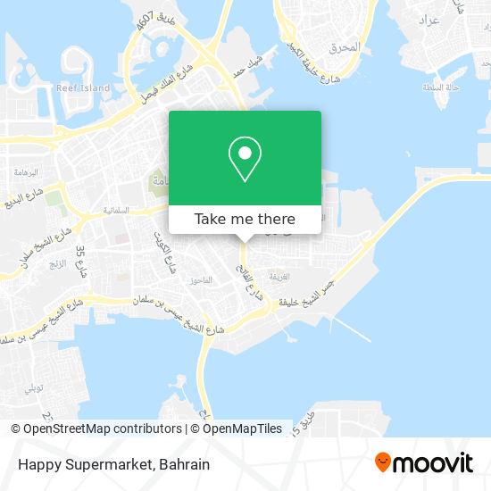 Happy Supermarket map
