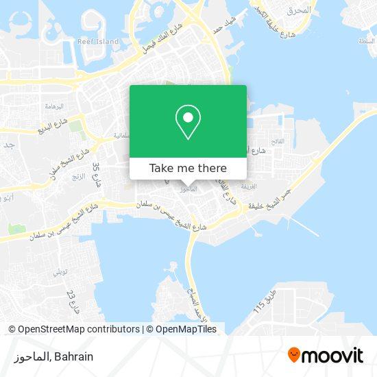 Al Mahooz map