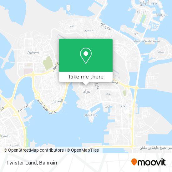 Twister Land map