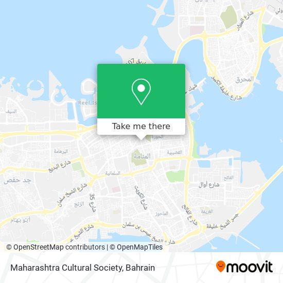 Maharashtra Cultural Society map