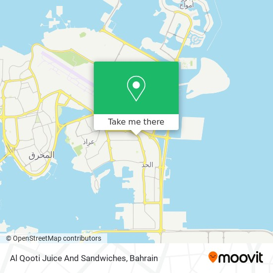 Al Qooti Juice And Sandwiches map