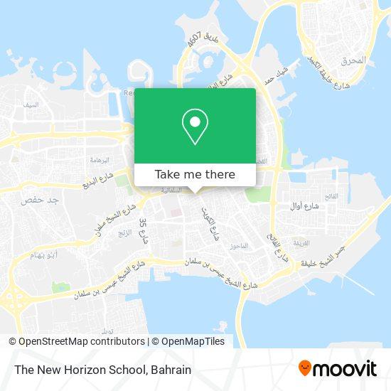 The New Horizon School map