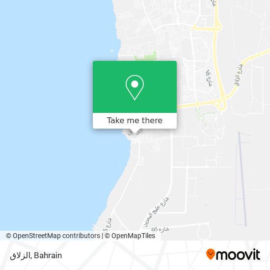 الزلاق map