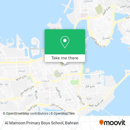 Al Mamoon Primary Boys School map