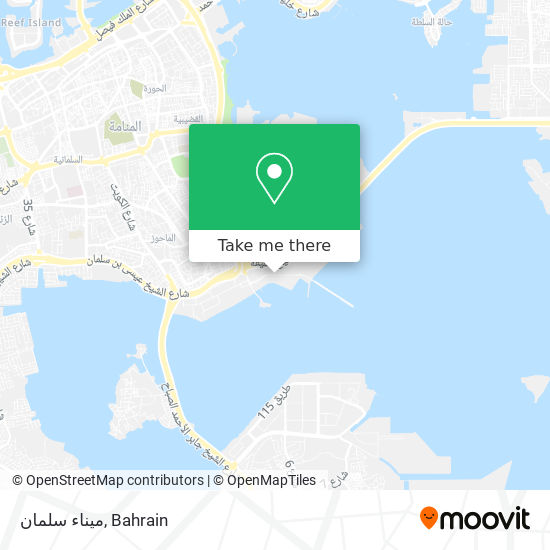 Mina Salman map