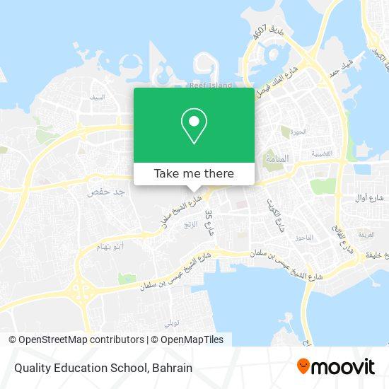 Quality Education School map