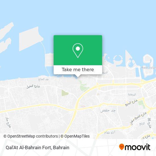Qal'At Al-Bahrain Fort map