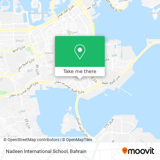 Nadeem International School map