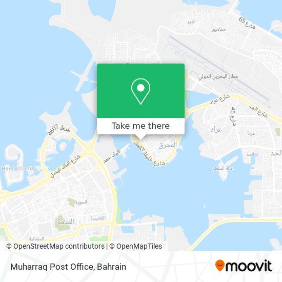 Muharraq Post Office map