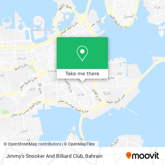 Jimmy's Snooker And Billiard Club map