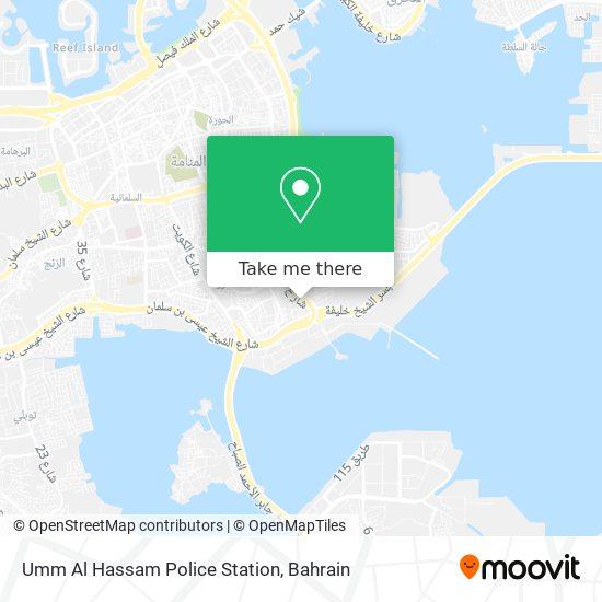 Um Al Hassam Police Station map