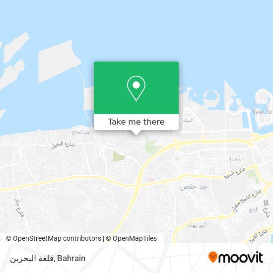 Qal'At Al-Bahrain map