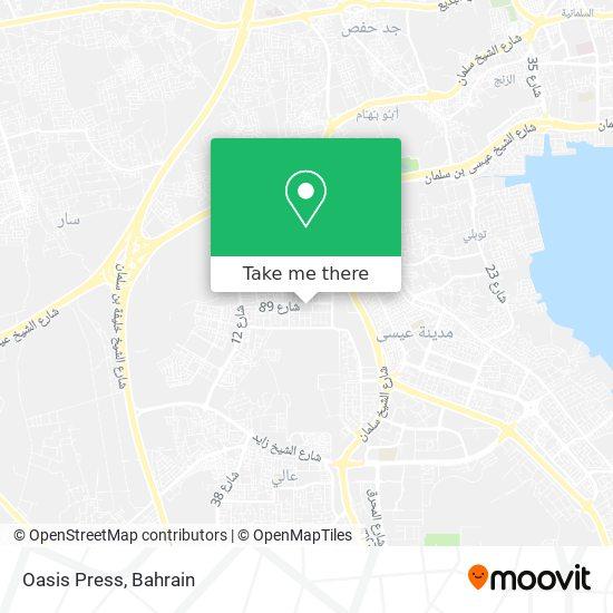 Oasis Press map