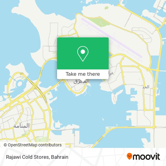 Rajawi Cold Stores map