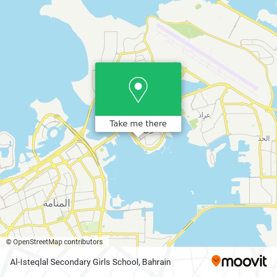 Al-Isteqlal Secondary Girls School map