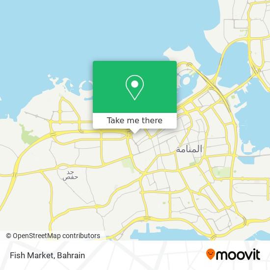 Fish Market map