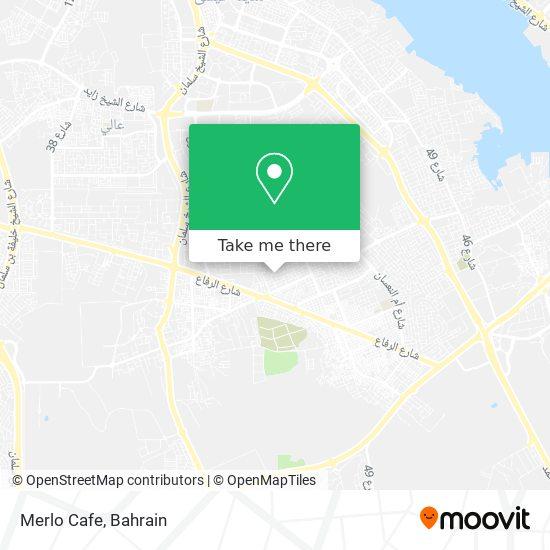 Merlo Cafe map