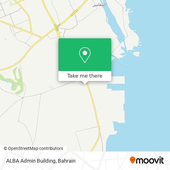 ALBA Admin Building map