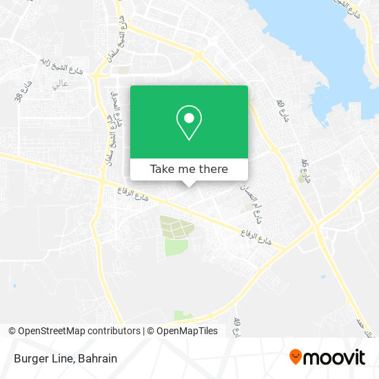Burger Line map