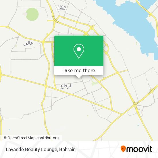 Lavande Beauty Lounge map